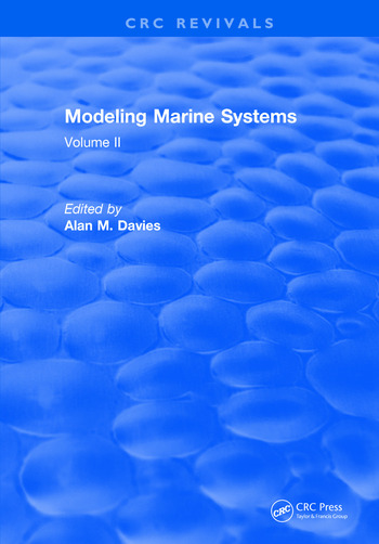 Modeling Marine Systems Volume II book cover