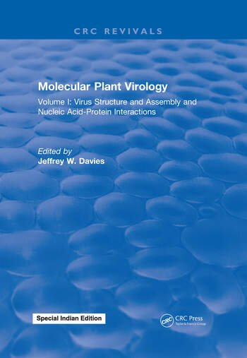 Molecular Plant Virology Volume I: Virus Structure and Assembly and Nucleic Acid-Protein Interactions book cover