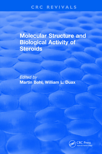 Molecular Structure and Biological Activity of Steroids book cover