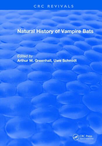 Natural History of Vampire Bats book cover