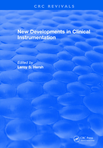 New Developments in Clinical Instrumentation book cover