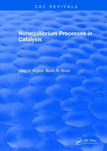 Nonequilibrium Processes in Catalysis book cover