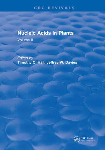 Nucleic Acids In Plants Volume II book cover