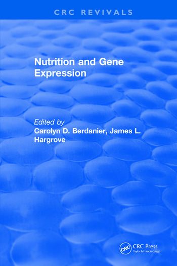 Nutrition and Gene Expression book cover