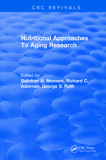 Nutritional Approaches To Aging Research book cover