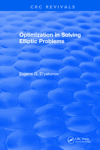 Optimization in Solving Elliptic Problems book cover
