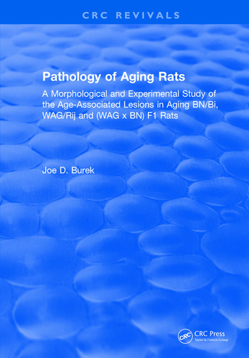 Pathology Of Aging Rats book cover