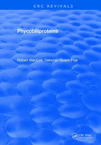 Phycobiliproteins book cover
