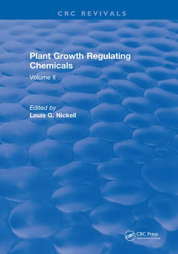 Plant Growth Regulating Chemicals Volume II book cover