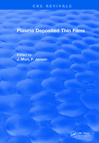 Plasma Deposited Thin Films book cover
