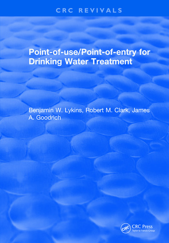 Point-of-Use/Point-of-Entry for Drinking Water Treatment book cover
