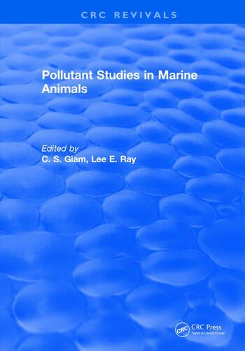 Pollutant Studies In Marine Animals book cover