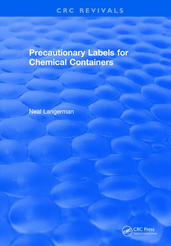 Precautionary Labels for Chemical Containers book cover