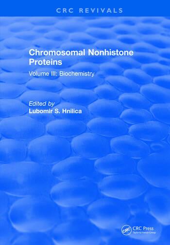 Progress In Nonhistone Protein Research Volume III book cover