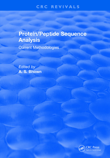 Protein/Peptide Sequence Analysis: Current Methodologies book cover