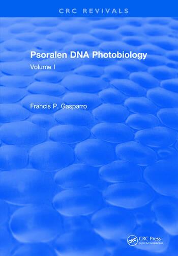 Psoralen Dna Photobiology Volume I book cover