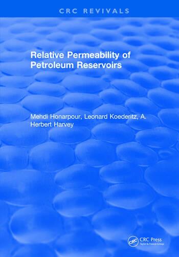 Relative Permeability Of Petroleum Reservoirs book cover