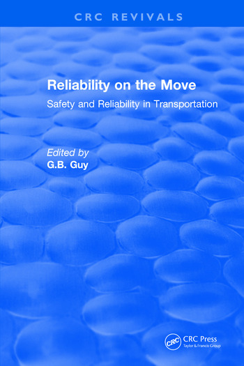 Reliability on the Move Safety and reliability in transportation book cover
