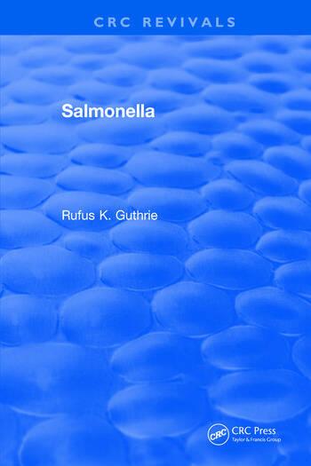 Salmonella book cover