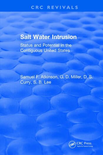 Salt Water Intrusion book cover