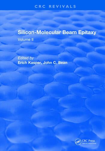 Silicon Molecular Beam Epitaxy Volume II book cover