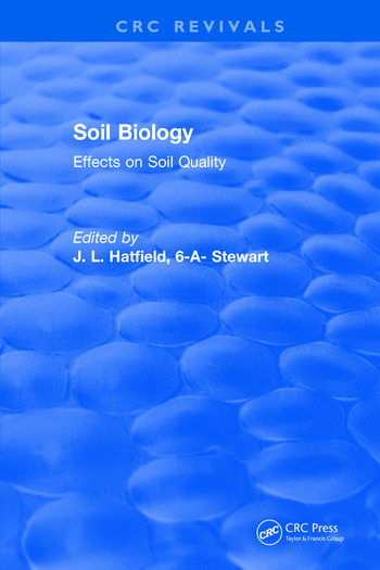 Soil Biology Effects on Soil Quality book cover
