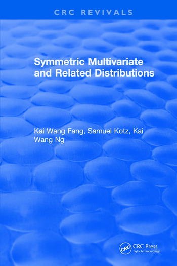 Symmetric Multivariate and Related Distributions book cover