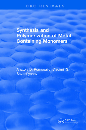 Synthesis and Polymerization of Metal-Containing Monomers book cover