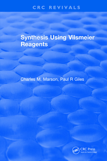 Synthesis Using Vilsmeier Reagents book cover