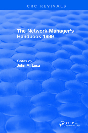 The Network Manager's Handbook 1999 book cover