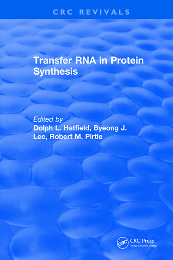 Transfer RNA in Protein Synthesis book cover