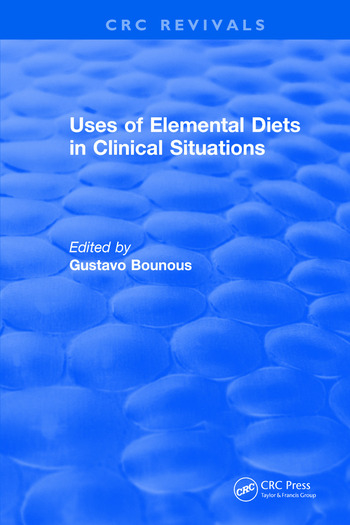 Uses of Elemental Diets in Clinical Situations book cover