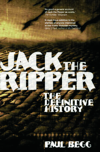 Jack the Ripper The Definitive History book cover