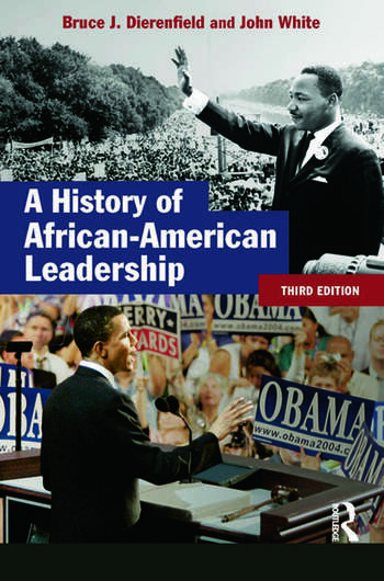 A History of African-American Leadership book cover