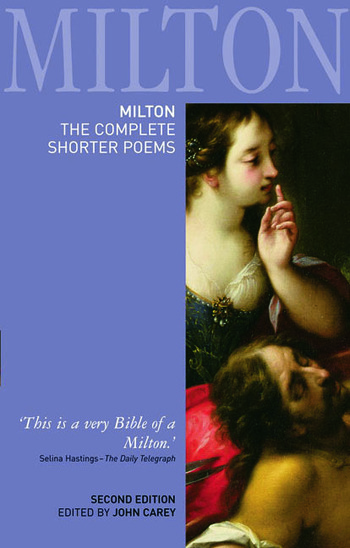 Milton: The Complete Shorter Poems book cover
