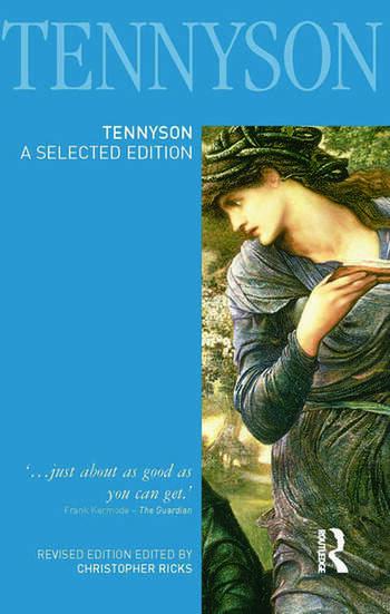 Tennyson A Selected Edition book cover