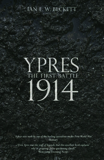 Ypres The First Battle 1914 book cover