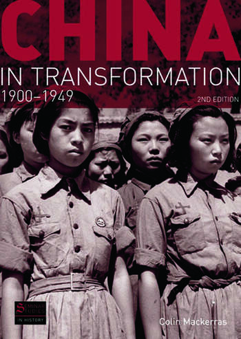 China in Transformation 1900-1949 book cover