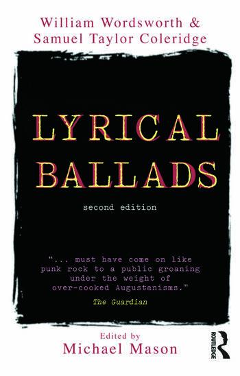 Lyrical Ballads book cover