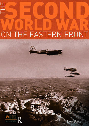 The Second World War on the Eastern Front book cover