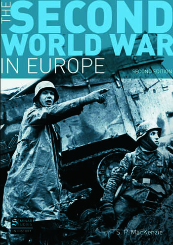 The Second World War in Europe Second Edition book cover