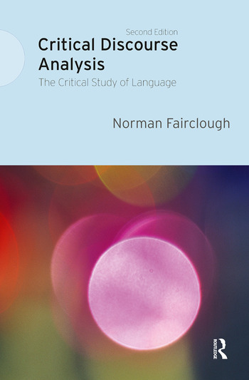 Critical Discourse Analysis The Critical Study of Language book cover