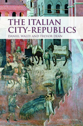 The Italian City Republics book cover