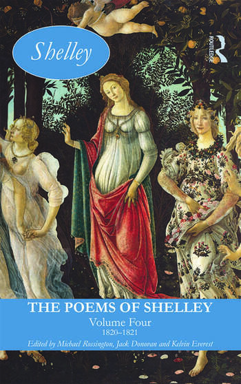The Poems of Shelley: Volume Four 1820-1821 book cover