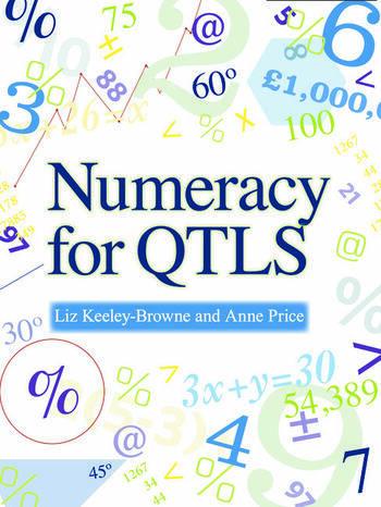 Numeracy for QTLS Achieving the Minimum Core book cover