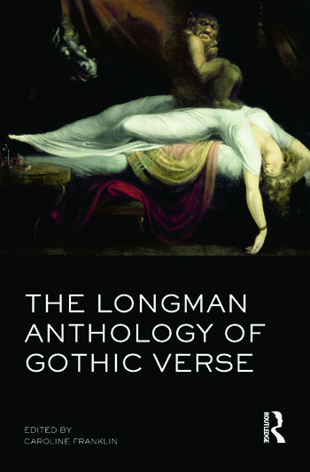 The Longman Anthology of Gothic Verse book cover