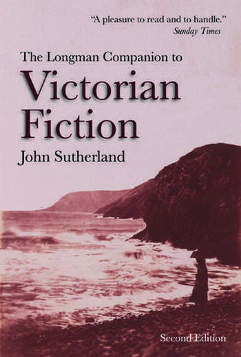 The Longman Companion to Victorian Fiction book cover