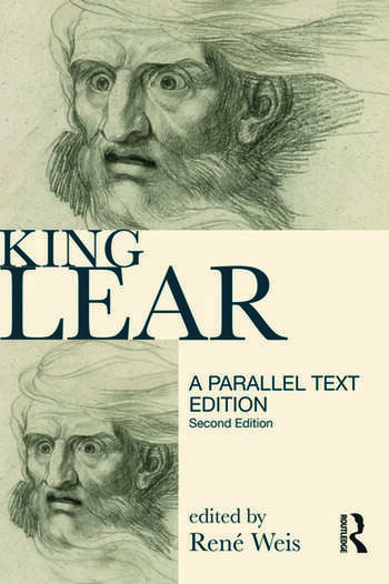 King Lear Parallel Text Edition book cover