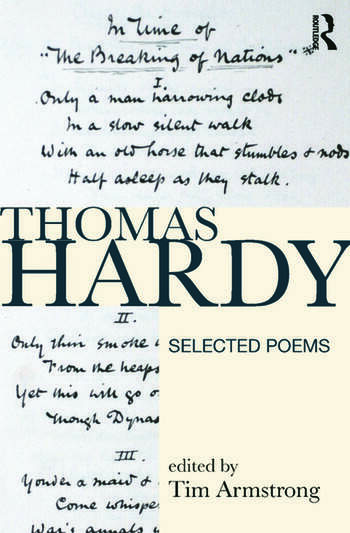 Thomas Hardy Selected Poems book cover