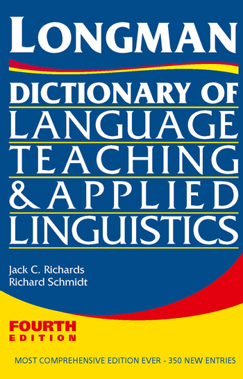 Longman Dictionary of Language Teaching and Applied Linguistics book cover